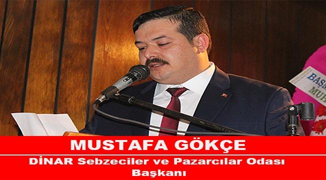 Başkan Mustafa Gökçe '' Bedel Ödeyen Hep Küçük Esnaf ''