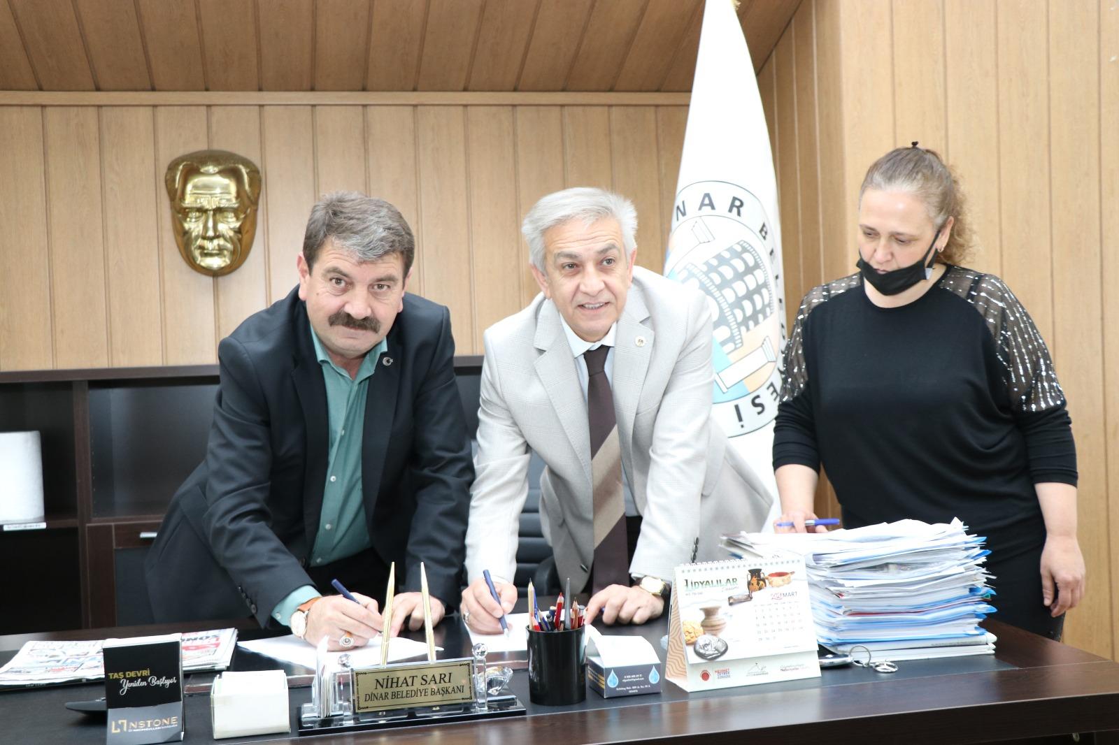 Türk Yerel Hizmet Sen ile Denge Tazminatı Sözleşmesi İmzalandı
