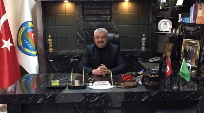 Ziraat Odası Başkanı Cengiz Güçlü'den Çiftçiler Günü Mesajı