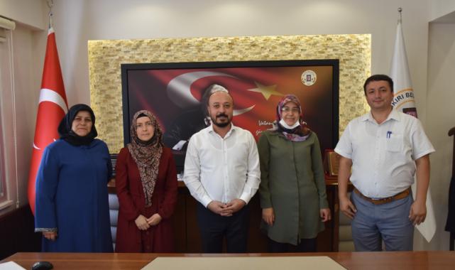 Dazkırı Kadın Kooperatifinden Başkan TAYLAN'a Ziyaret