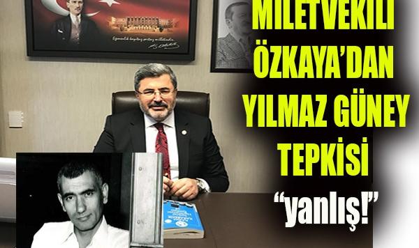 Milletvekili Özkaya Tepki Gösterdi!
